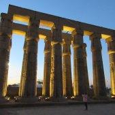 Luxor colonnades