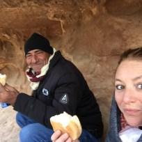 Guide in Petra