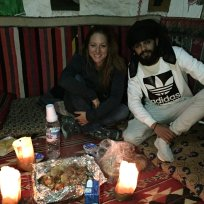 Ahmed, bedouin of Petra