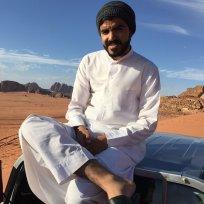 Mohamed, bedouin in Wadi Rum