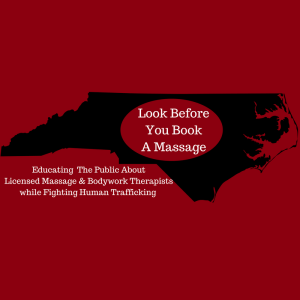 Look before you book a massage nc header