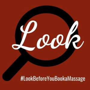 look before you book logo