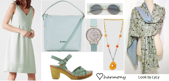 outfit verde pastel