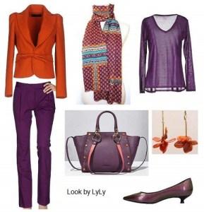 Alegres colores de otoño para looks casual