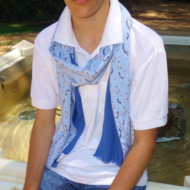 bird scarf for men