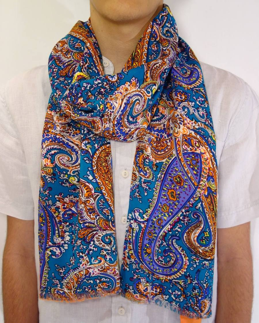 paisley scarf for men