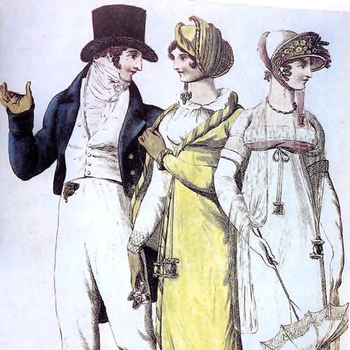 moda directorio principios s.XIX