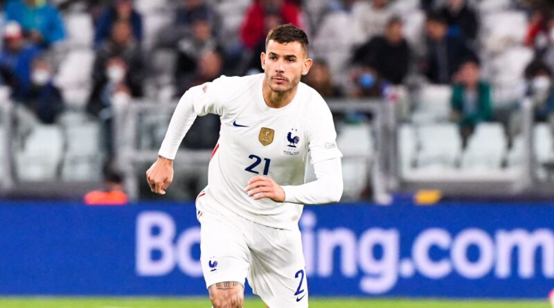(photo by giuseppe cottini/nurphoto via getty images) theo hernandez, in the last game. French or Spanish? What we should call Lucas Hernandez ...