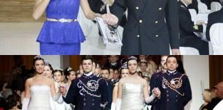 Emanuela Folliero Gran Ballo delle Debuttanti Milano Teulié abito Musani scarpe Mario Valentino 11