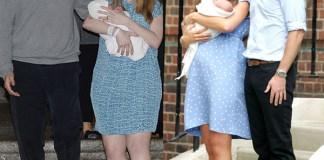Chelsea Clinton Marc Charlotte Kate Middleton William George