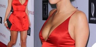 Selena Gomez Rudderless abito Dior scarpe Manolo Blahnik clutch VBH
