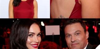 Megan Fox Ferrari abito Versace clutch Edie Parker 2