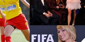 Pallone d'oro Cristiano Ronaldo Lionel Messi Stephanie Roche