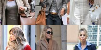 Daniela Santanchè Cristina Parodi Gabriella Dompè Rita Rusic Francesca Senette Marina Berlusconi borse Hermès Kelly e Birkin