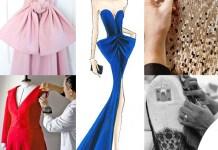 abiti Calvin Klein Dior Luis Vuitton J Mendel bozzetto Armani