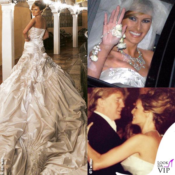 Abiti Da Sposa 35 Anni.Melania Trump L Abito Da Sposa Da Record Lookdavip It