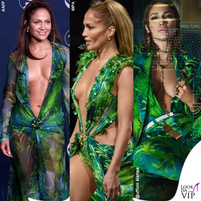 Jennifer Lopez jungle dress Versace 2000 2019 2020