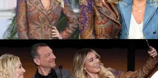Sanremo: Diletta Leotta, Antonella Clerici e Amadeus