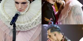 Achille Lauro regina Elisabetta 1 Boss Doms bacio