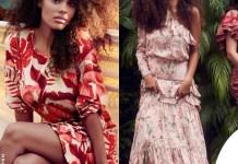 Tina Kunakey testimonial della collezione Johanna Ortiz per H&M
