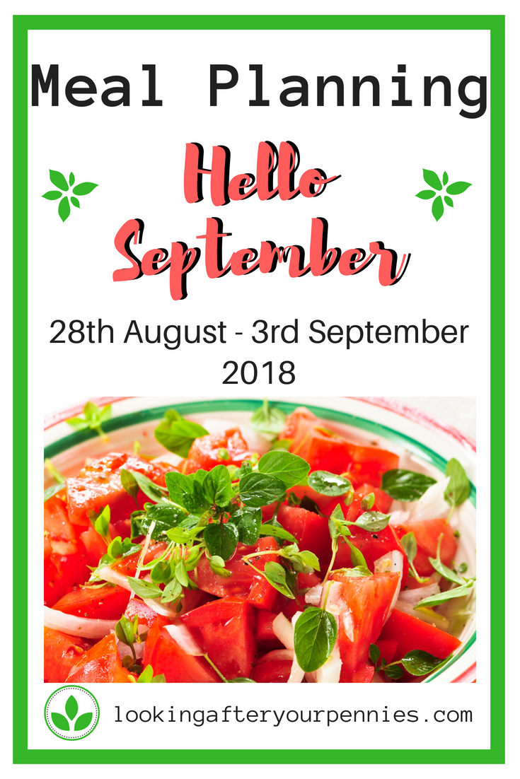 Once again here is my weekly meal planning post. Giving you ideas on how to meal plan on a budget. With gluten free, lactose free and low FODMAP meals. #mealplanning #frugal #lookingafteryourpennies