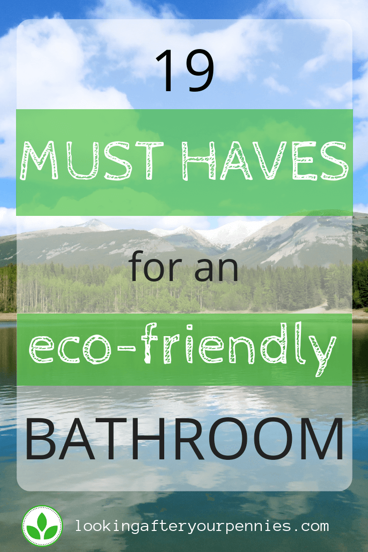 eco friendly bathroom