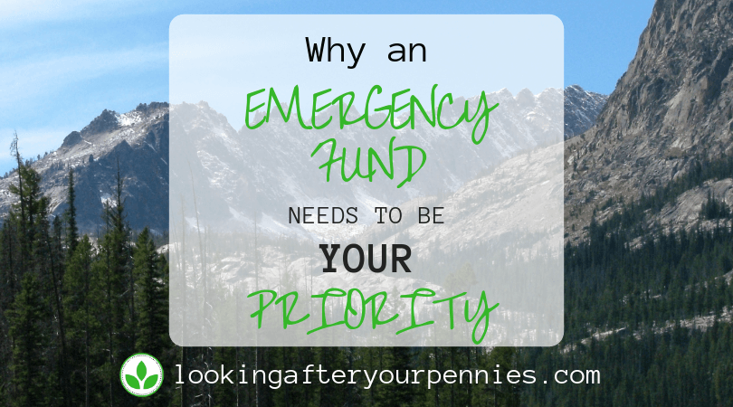 Why An Emergency Fund Needs To Be Your Priority