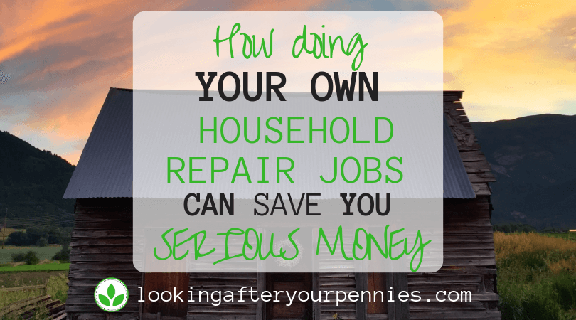 How Doing Your Own Household Repair Jobs Can Save You Serious Money