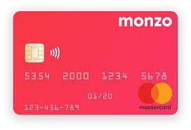 Monzo Contactless Mastercard