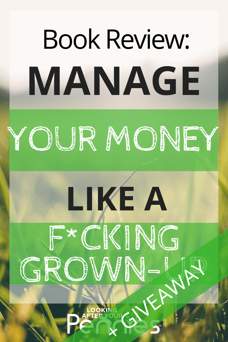 manage your money like a fucking grown up giveaway