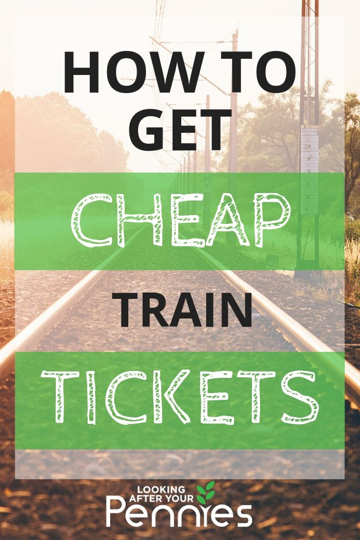 cheap train tickets