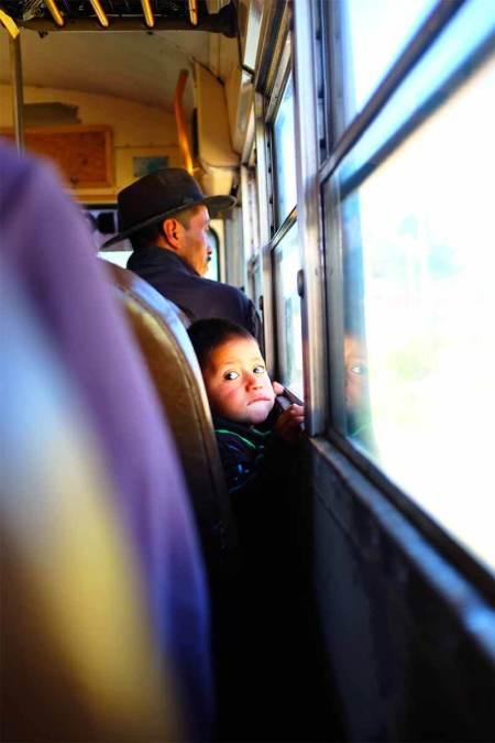 Crianças em viagem