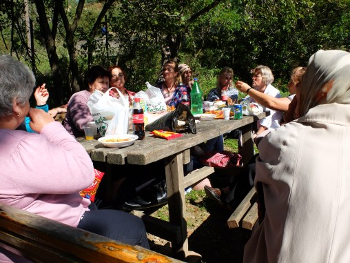 Kosovars really know how to picnic.