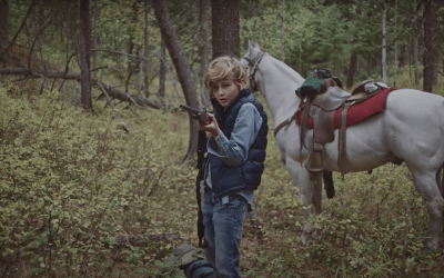 In Cowboys, a father and child head for the hills to escape the simplistic opinions of others