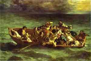 Eugène Delacroix - The Shipwreck of Don Juan, 1840