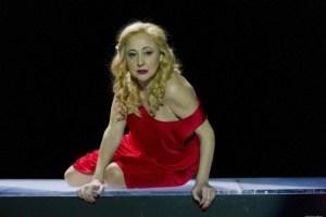 Carmen Machi as Helen of Troy in Miguel del Arco's Juicio a una Zorra