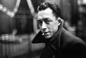 Albert Camus (1913 - 1960) author of L'Étranger (1942)
