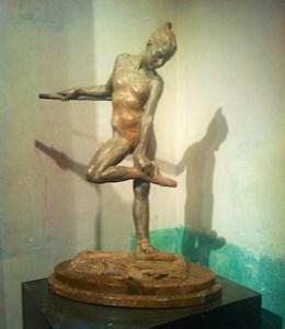 Richard MacDonald's sculptures at MEAM