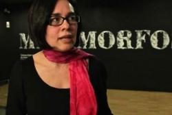 Carolina López Caballero, the animator and curator of the show Metamorphosis at Barcelona's CCCB / Madrid's La Casa Encendida, 2014.