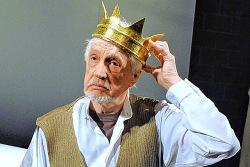Edward Petherbridge as King Lear in My Perfect Mind