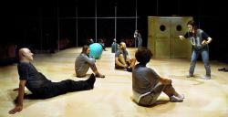 Annie Baker's Circle Mirror Transformation (Joc de Miralls) directed by Juan Carlos Martel Bayod at Espai Lliure Barcelona February 2015. Photo by Ros Ribas