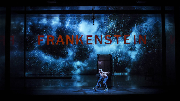 Joel Joan is the monster in Frankenstein.