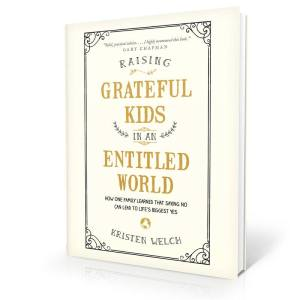 Raising Grateful Kids in an Entitled World book cover #raisinggratefulkids