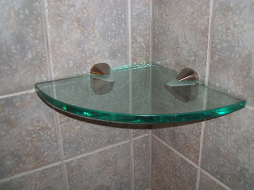 glass shelves for bathroom.diy bathroom cabinet. bathroom glass