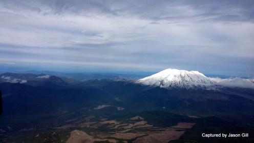 Flying Towards Mt. St. Helens (2)
