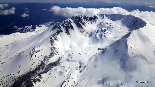 Mt. St. Helens Caldera Wide