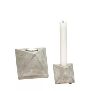 swiecznik z betonu