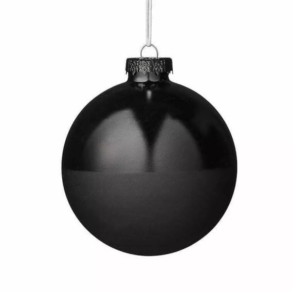 bombka czarna