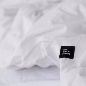 HOP Design – pościel PURE biała