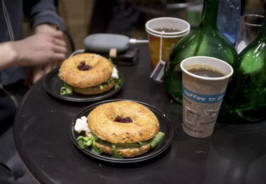 jedzenia na targach arena design